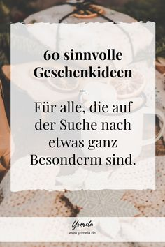 Ausgefallen Geschenke – Originelle & nachhaltige Geschenkideen 60 gift ideas with meaning, especially for people who already have everything. Sustainable Gifts, Unusual Gifts, Presents, Cards Against Humanity, The Originals, Blog, Creative Logo, Creative Gifts, Gerhard