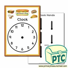 Sandwich Shop Role Play Resources - Primary Treasure Chest Teaching Activities, Teaching Ideas, Ourselves Topic, Sandwich Shops, Candy Shop, Role Play, Treasure Chest, Cooking Timer, Sandwiches