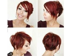 long pixie round face Google Search Hair and makeup