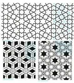 Geometric Patterns from islamic art GP-B Geometric Patterns, Tile Patterns, Pattern Art, Textures Patterns, Geometric Shapes, Pattern Design, Islamic Art Pattern, Arabic Pattern, Arabesque Design