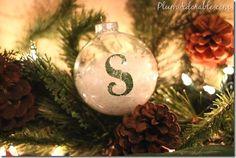 Christmas Gift Ideas  ~ DIY ornaments