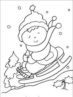 winter ausmalbilder - ausmalbilder für kinder | ausmalbilder winter, ausmalbilder, malvorlagen