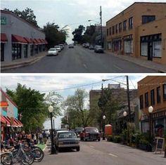 Changer sa ville pour l'améliorer, est-ce même légal ?  L'exemple de Better Block à Dallas. Par SUV / Shabnam