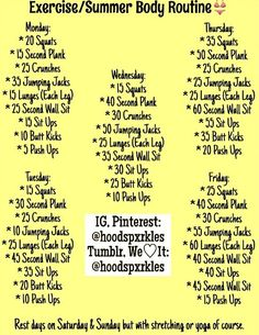 In need for workout plans? Kindly read these really excellent workout plans ideas reference 1428916962 immediately. Fitness Workouts, Fitness Herausforderungen, At Home Workouts, Fitness Motivation, Health Fitness, Weekly Workouts, Fitness Binder, Summer Workouts, Fitness Bodies