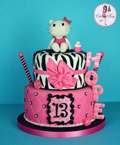 Cakes by Dusty: Hopes Hello Kitty Cake
