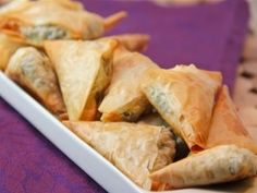Spinach and Feta Spanakopita : Recipes : Cooking Channel