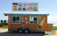 New Listing: http://www.usedvending.com/i/Custom-18-Shaved-Ice-Food-Concession-Trailer-for-Sale-in-Florida-/FL-P-715O Custom 18' Shaved Ice & Food Concession Trailer for Sale in Florida!!!