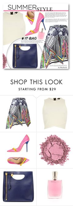 """""""Summer """"It Bag"""""""" by beebeely-look ❤ liked on Polyvore featuring Preen, River Island, Dsquared2, Cullen, Tom Ford and Lancôme"""