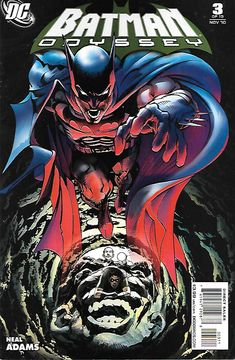 Batman Odyssey Part 3 __Written , Drawn And Cover Art Neal Adams __ Bruce Wayne and Alfred strategize the next steps on The Dark Knight's odyssey…but appearances by both The Riddler and Talia al Ghul
