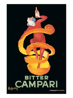 Campari. This print hangs in my home.