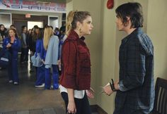 Still of Ashley Benson and Tyler Blackburn in Pretty Little Liars