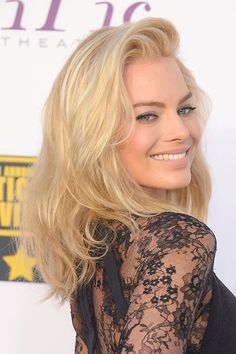 Margot Robbie Before We fell in love with Margot Robbie as a blonde in The Wolf of Wall Street...