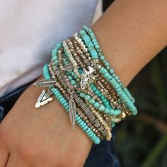 Six ways to rock these rocks this summer and be on top of the latest jewelry trends! Halcraft shares with us the latest trends from turquoise to druzy.