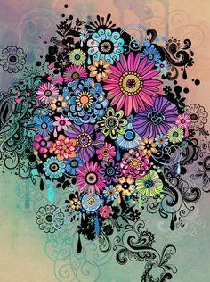 Jess Volinski- Illustration & Surface Design - Fluid Forms - jessvolinski_colorexplosion.jpg