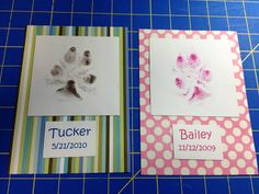 Southern Wag Pet Accessories: Framed Paw Print Art Tutorial!