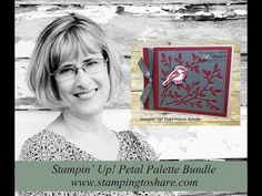 How to Use Scraps and Make a Stampin' Up! Petal Palette Bundle Card