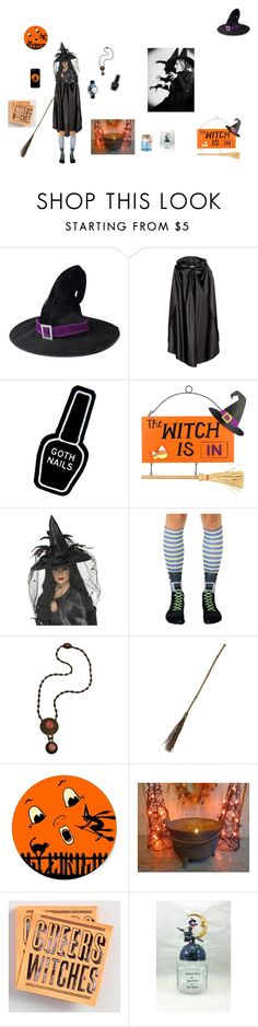 """The Wicked Witch is Jealous!"" by beanzvintiques ❤ liked on Polyvore featuring Witch Worldwide, Cost Plus World Market and Whimsical Watches"