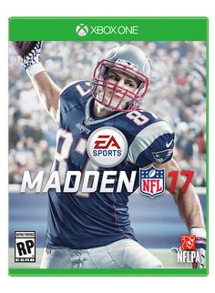 Your Madden 17 cover player: Rob Gronkowski!!!