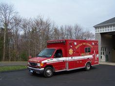 Bantam Fire Company (CT)  Ambulance 37 2006 Ford E-450 / Lifeline)  www.setcomcorp.com/fire.html