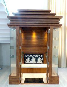 Modern Bedroom Design, Bed Furniture Design, Temple Design For Home, Living Room Design Modern, Latest House Designs, Pooja Room Design, House Designs Exterior, Room Design, Room Door Design
