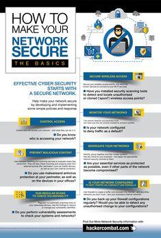 Ways to Secure Your IT Network [Infographic] Manieren om uw IT-netwerk te beveiligen [Infographic] Security Technology, Technology Hacks, Wireless Home Security Systems, Computer Security, Security Tips, Computer Technology, Computer Programming, Computer Science, Network And Security