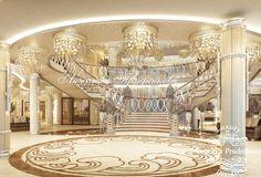 Дизайн интерьера холла - Общественные помещения