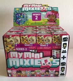NEW Case Of 36 Pack MY MINI MIXIE Q'S MIXIEQ Toy New Blind Box SERIES 2 | eBay