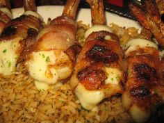 Pappadeaux Shrimp Brochette Recipe. When I was in college, I worked at Pappadeaux as a waitress. I LOVED their brochette shrimp and I asked the cook for the recipe. He didn't give me the exact measurements, but he did give me the list of ingredients. I went home and played around with the quantities of the ingredients and came up with what I think is very close to the real thing! (Use Fresh JUMBO Shrimp for this Recipe.)