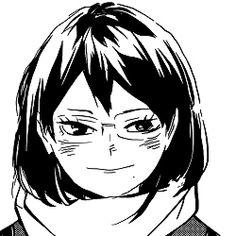Haikyuu Fanart, Haikyuu Anime, Haikyuu Characters, Anime Characters, Shimizu Kiyoko, Haruichi Furudate, Anime Profile, Manga Pages, Kenma