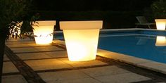 Bloom Light Pot by Rob Slewe for Bloom - Free Shipping