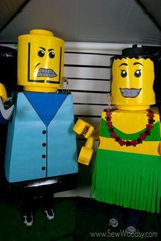 DIY Lego Costume Tutorial