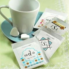 Love the Personalized Tea Bag Favors for a bridal or baby shower? by marian