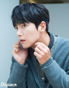"""Taking a break from snooping on dating celebrities, Dispatch's paparazzi caught up with Ji Chang Wook and YoonA on the set of their ongoing drama """"The The reporter shared som… Asian Actors, Korean Actors, Korean Dramas, Ji Chang Wook 2017, Fabricated City, Ji Chan Wook, Kim Woo Bin, Kpop, Attractive People"""