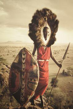 Masai warrior, Kenya