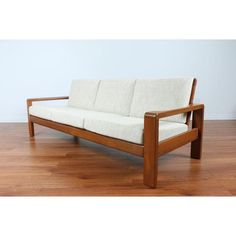 Image of Hw Klein 1970's Teak Danish Sofa