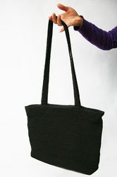 borsa all'uncinetto - crocheted bag