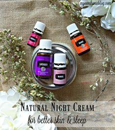 Natural Night Cream For Better Skin & Sleep