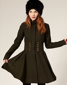 Military style coat   # Pin++ for Pinterest #