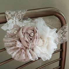 Couture Headband Easter bonnet by AngieNorthDesign on Etsy, $25.00