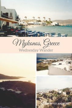 My travels to Mykonos in Greece!