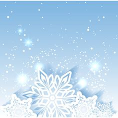 Sparkling Christmas Star Snowflake Background ❤ liked on Polyvore featuring backgrounds and winter