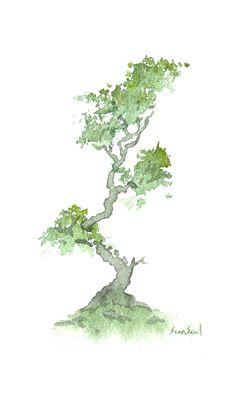 Better Than A Pill | Little Watercolor Trees