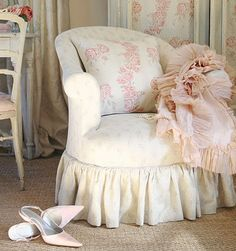 Shabby chic on friday. Lo shabby chic romantico.