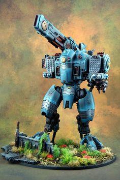 - Tau Stormsurge by Andy Kessler Warhammer 40k Art, Warhammer 40k Miniatures, Tau Army, Miniaturas Warhammer 40k, Tau Empire, Imperial Knight, Necron, Star Trek Enterprise, Stargate Atlantis