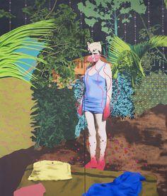 daisy patton / Untitled-Swimmer