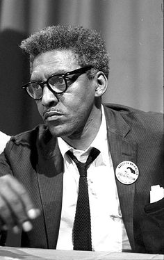 Bayard Rustin: An American Hero No Longer Forgotten.  Jailed for not entering the draft.  Went to India to learn more about the non-violence movement.  Organized, participated in, and was arrested for the original freedom ride in 1947 (before the 60s rides).  Advised MLKJ on non-violence.  Chief organizer of the 1963 March on Washington, he kept in the background as he'd been reviled for his homosexuality by some within (and without) the movement.