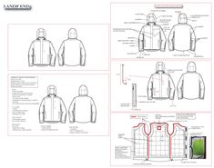 technical sketches by emily butcher at Coroflot.com