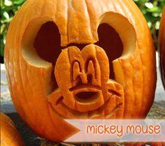 13 Spooktacular Disney Character Jack O'Lanterns: Mickey Mouse   Disney Baby