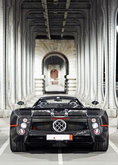 Visit The MACHINE Shop Café... ❤ Best of Pagani @ MACHINE ❤ (2013 Pagani Zonda Revolucion)