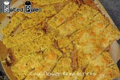 Cauliflower Breadsticks  @Dave Bird Bird muscat Paleo - SCD/Paleo/GAPS